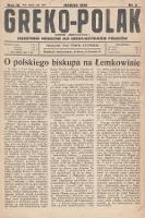 Greko - Polak : czasopismo miesięczne dla greko-katolików Polaków. 1936, nr3
