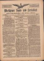 Wreschener Stadt und Kreisblatt: amtlicher Anzeiger für Wreschen, Miloslaw, Strzalkowo und Umgegend 1909.09.09 Nr106