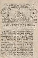 Kuryer Litewski. 1763, nr XXXII