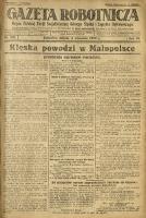 Gazeta Robotnicza, 1927, R. 32, nr 201