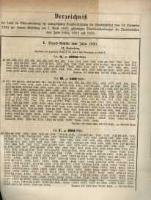 Verzeichniss …. vom 14. Septemberi 1882 … am 1. April 1883....