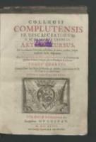 Collegii Complutensis Fr. Discalceatorum B. M. de Monte Carmeli Artium cursus […]. Tomus quartus […]. - Johannes ab Annuntiatione.
