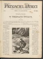 Przyjaciel Dzieci : pismo tygodniowe ilustrowane. R. 34, 1894 nr 42 (8 [20] X)