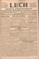 Lech. Gazeta Gnieźnieńska: codzienne pismo polityczne dla wszystkich stanów 1931.05.01 R.32 Nr100