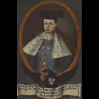 Portret Lawinii z książąt Koreckich Radziwiłłowej (ca 1587- ca1641) - nieznany malarz polski