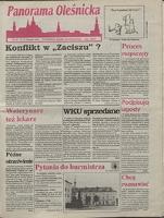 Panorama Oleśnicka: tygodnik Ziemi Oleśnickiej, 1992, nr 73