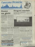 Panorama Oleśnicka: tygodnik Ziemi Oleśnickiej, 1995, nr 43