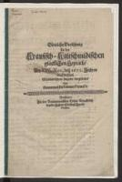 Göttliche Versehung zu der Krausisch-Kaltschmidischen glücklichen Heyrath, am XIV. Nov. dess 1672. Jahres in Breßlau Glückwüntschend singende vorgestellet, von einem wohlbeKanten FreunD. - K.F.D.