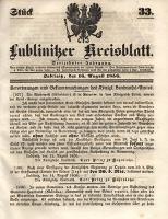 Lublinitzer Kreisblatt, 1856, Jg. 13, St. 33