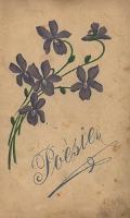 """""""Poèsien"""". Zbiór poetyckich wpisów pamiątkowych (z lat 1909-1910) wraz z podpisami uczniów i nauczycieli szkoły w Pieszycach (Peterswaldau)"""