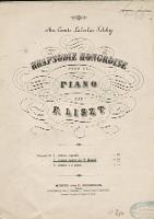 Rapsodie Hongroise : pour le Piano : Rapsodie No 2 - Liszt, Franz (1811-1886)