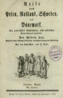 Reise durch Polen, Russland, Schweden, und Dčanemark : mit historischen Nachrichten, und politischen Bemerkungen begleitet. Bd. 2 - Coxe, William (1747-1829)