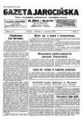 Gazeta Jarocińska; pismo niezależne, poświęcone wszystkim stanom. Za Wiarę i Ojczyznę! 1936.06.11 R.17 Nr47