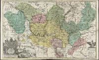Land-Charte des ChvrFürstenthums Brandenburg - Gundling, Jacob Paul, Freiherr von (1673-1731)