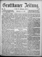 Grottkauer Zeitung 1897-05-12 Jg.17 Nr 38