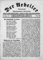 Der Arbeiter 1926-05-01 Jg.29 Nr 5