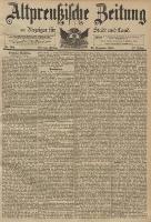 Altpreussische Zeitung, Nr. 292 Freitag 13 Dezember 1895, 47. Jahrgang