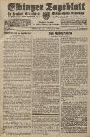 Elbinger Tageblatt, Nr. 15 Mittwoch 18 Januar 1928, 5. Jahrgang