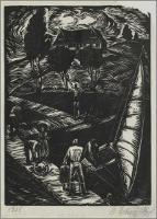 Przystań żeglarska (Na molo) - Meszczyński, Marian (1910 - )
