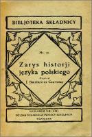 Zarys historii języka polskiego - Baudouin de Courtenay, Jan Niecisław (1845-1929)