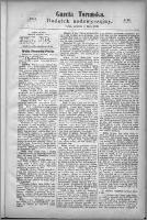 Gazeta Toruńska 1870, R. 4 nr 161 (dodatek nadzwyczajny)