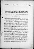 Fundamental Polarization of Photoluminescence and Torsional Vibrations of Molecules - Jabłoński, Aleksander (1898-1980)