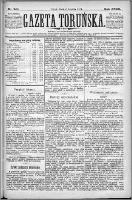 Gazeta Toruńska 1884, R. 18 nr 281