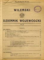 Wileński Dziennik Wojewódzki 1931.12.30 nr 12