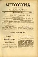 Medycyna 1907 T. 35 nr 31 - 36