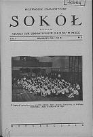 """Przewodnik Gimnastyczny """"Sokół"""" organ Towarzystw Gimnastycznych """"Sokół"""" w Polsce 1934.05 R.51 Nr5"""