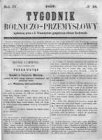 Tygodnik Rolniczo-Przemysłowy. 1857 R.4 nr28