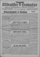 Ostdeutscher Beobachter: Organ der Nationalsozialistischen Deutschen Arbeiterpartei 1939.11.17 Jg.1 Nr17