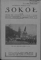 """Przewodnik Gimnastyczny """"Sokół"""": organ Związku Towarzystw Gimnastycznych """"Sokół"""" w Polsce 1931.10 R.48 Nr10"""