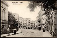 Hirschberg i Schl. Schützenstrasse [Dokument ikonograficzny]