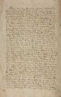 Contract Miedzey JMcią Panem [Stanisławem] Radzeskim [!] i Janem Lokiewiczem Anno 1672. Bodzewko [tyt. z noty dors.]