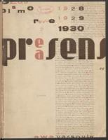 Praesens : kwartalnik modernistów. 1930 nr 2 (maj)