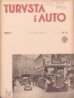 Turysta i Auto: pismo miesięczne ilustrowane: oficjalny organ Polskiego Touring Klubu 1934 sierpień R.2 Nr8