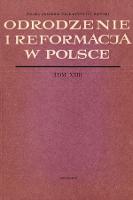 Odrodzenie i Reformacja w Polsce T. 23 (1978), Recenzje - Bieńkowski, Tadeusz (1932-2015)