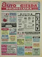 Auto Giełda Dolnośląska: regionalna gazeta ogłoszeniowa, 1998, nr 90 (515) [6.11]