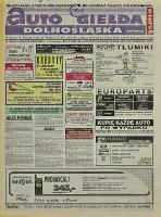 Auto Giełda Dolnośląska: regionalna gazeta ogłoszeniowa, 1998, nr 89 (514) [3.11]