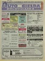 Auto Giełda Dolnośląska: regionalna gazeta ogłoszeniowa, 1998, nr 87 (512) [27.10]