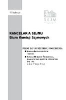 Pełny Zapis Przebiegu Posiedzenia Komisji Infrastruktury (Nr352) z Dnia 27 maja 2015 R. - Kancelaria Sejmu. Biuro Komisji Sejmowych