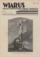 Wiarus : organ Podoficerów Wojska Lądowego i Marynarki Wojennej. R.3, nr 13