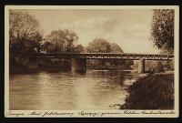 Cieszyn : most Jubileuszowy (łączący) granica Polsko-Czechosłowacka.