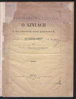 Ustawodawstwo kościoła o azylach wobec odnośnych ustaw państwowych : szkic historyczno-kanoniczny - Heyzmann, Udalryk (1835-1918)
