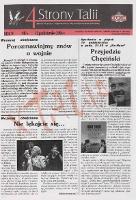 4 Strony Talii : dzienniczek (pisany i redagowany nocą a więc poniekąd nocniczek festiwalowy). R. 4, 2006, nr 6