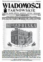 Wiadomości Tarnowskie : Ilustrowany tygodnik polityczny, gospodarczy, społeczny i informacyjny. R. 6, 2010, nr 22