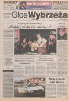 Głos Wybrzeża : pismo Polskiej Partii Robotniczej, 1996.12.11 nr 255