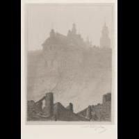 Dominikanie od strony Podwala - Wyczółkowski, Leon (1852-1936)