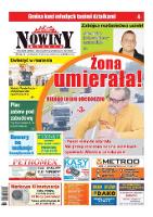 Nowiny Nyskie 2016, nr 16. - red. nacz. Renata Wąsowicz-Hołota.
